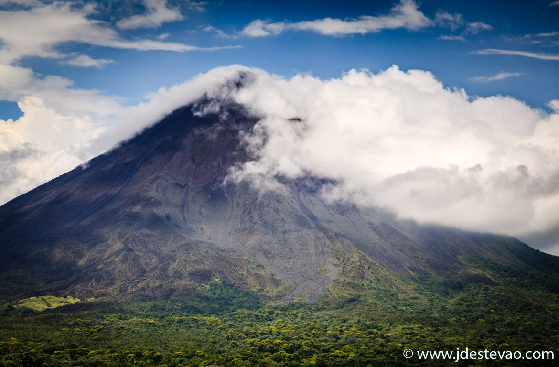 Vulcão Arenal, na Costa Rica