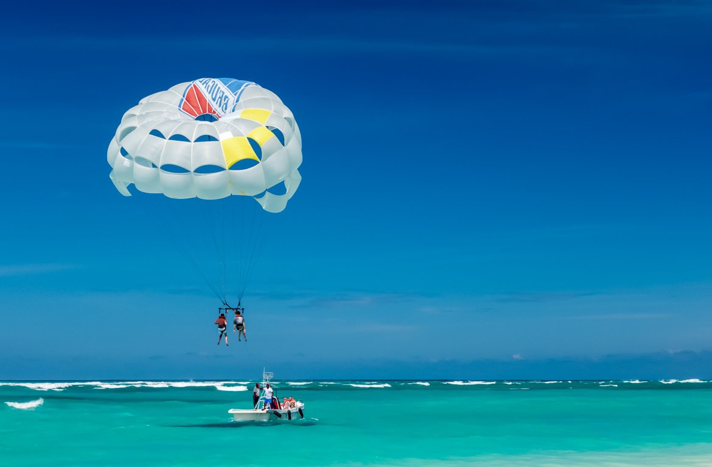Windsurf, Punta Cana, na República Dominicana