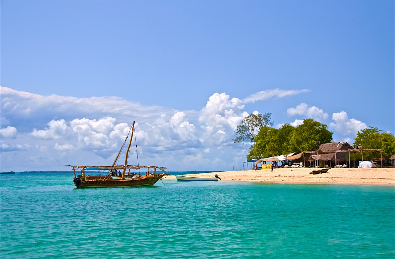Barco a vela em Zanzibar, Tanzânia