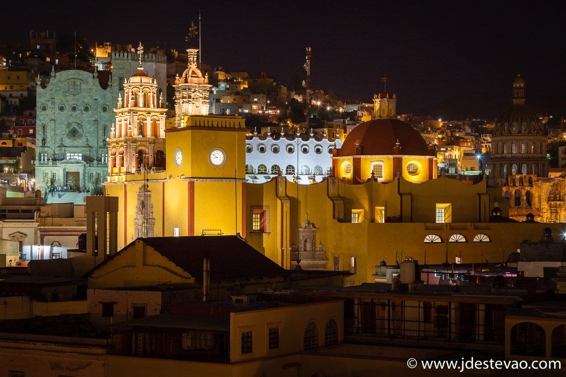 Guanajuato à noite, México