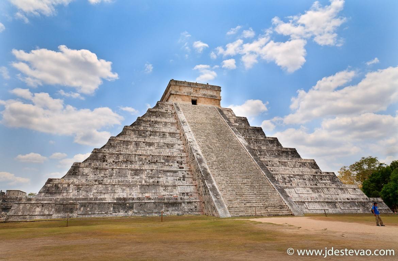 Templo de Kukulcán, em Chichén Itzá, no México