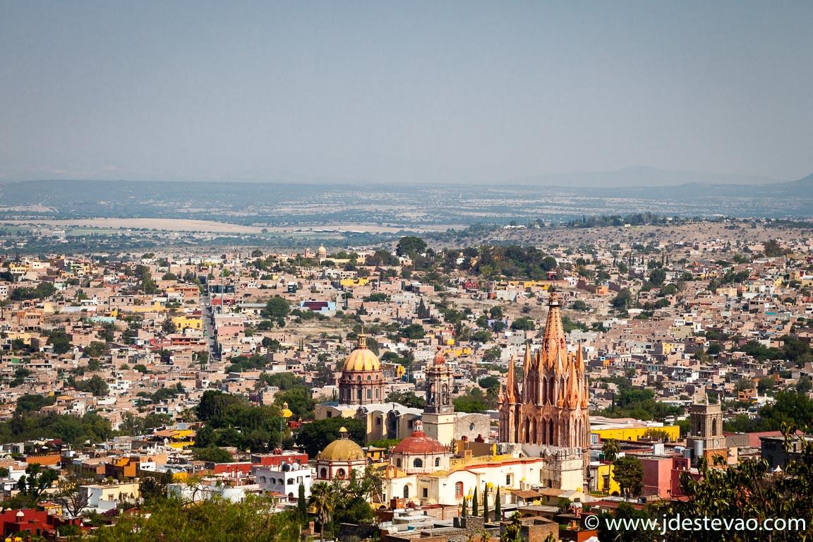 Vista Aérea San Miguel de Allende, Guanajuato, México