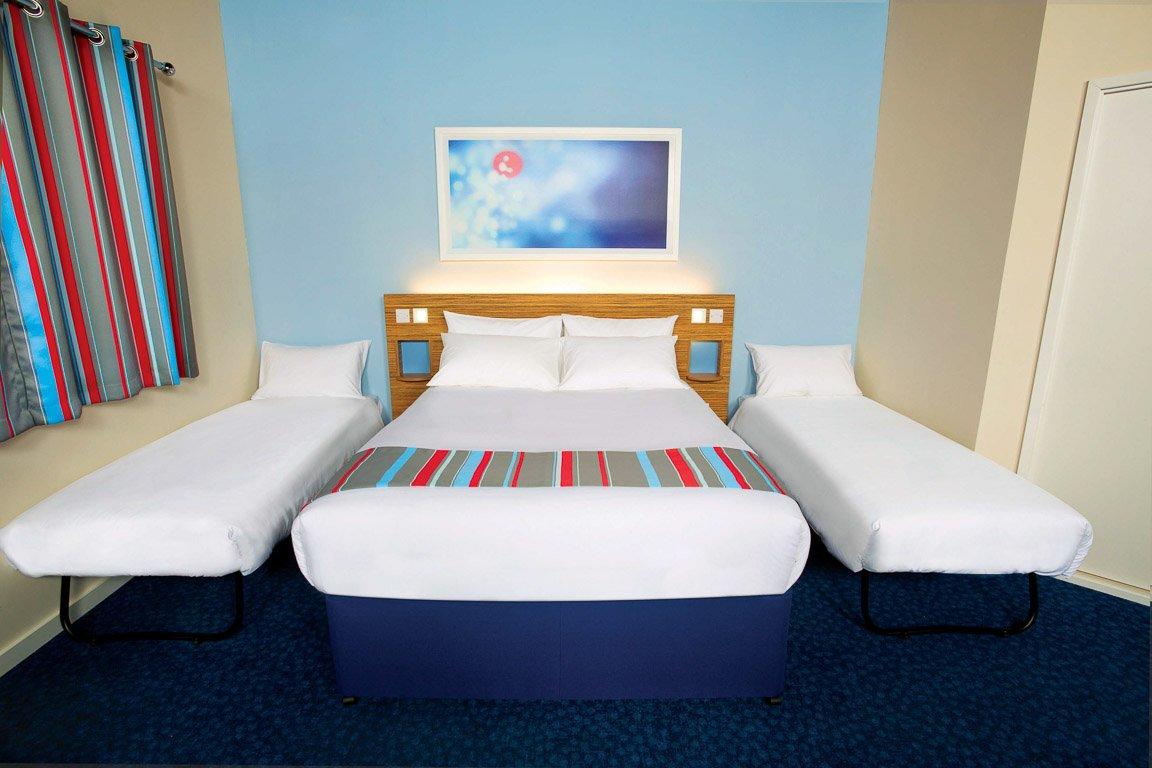 Interior do quarto do hotel Travelodge