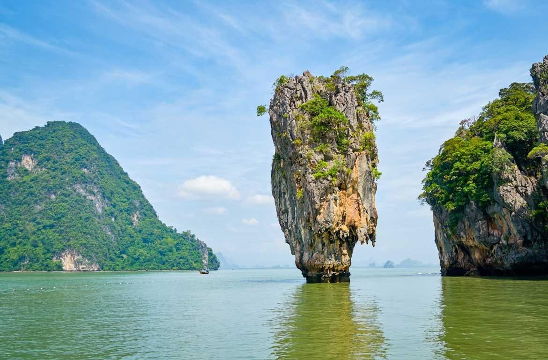 Ilha James Bond, Parque Nacional Ao Phang Nga, Tailândia