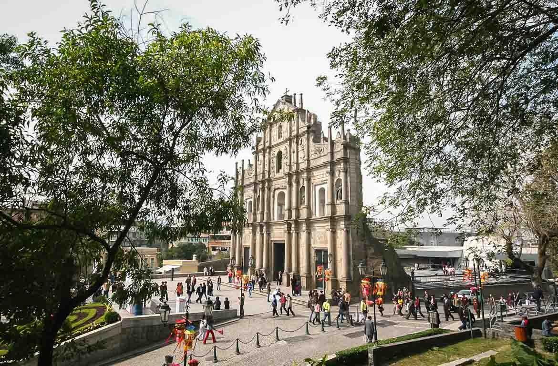 Ruinas São Paulo, Macau