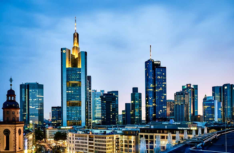 Arranha céus em Frankfurt