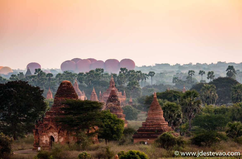 Nascer do sol Bagan