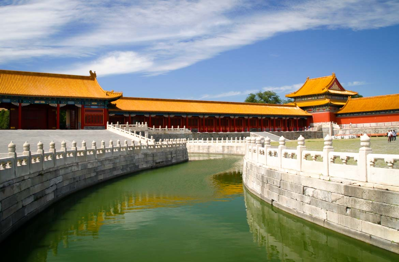 Cidade Proibida em Pequim China
