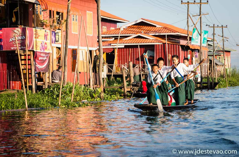O Inle Lake é obrigatório num roteiro a Myanmar