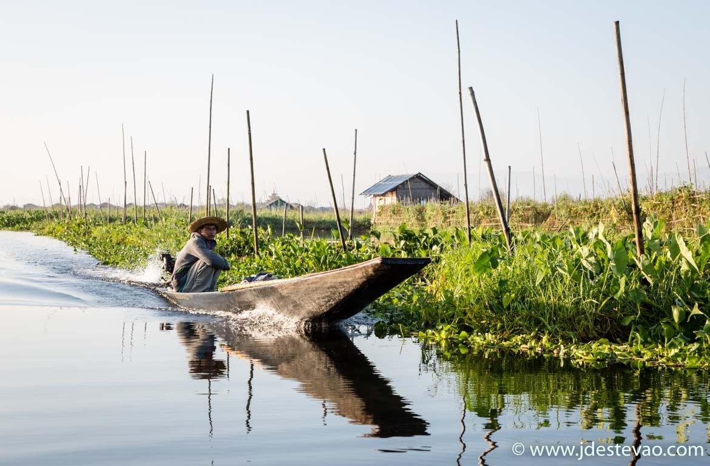 Lago Inle, no roteiro de viagem a Myanmar