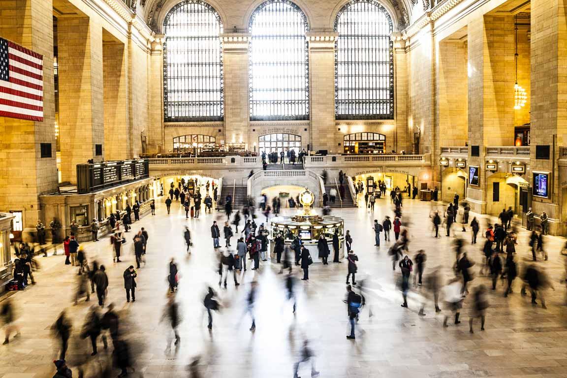 Grand Central Terminal em Nova Iorque, EUA
