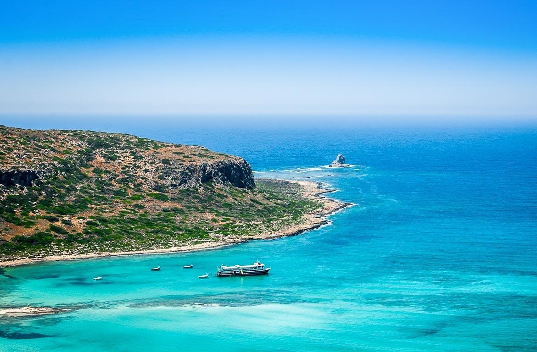 Praia em Creta, Grécia