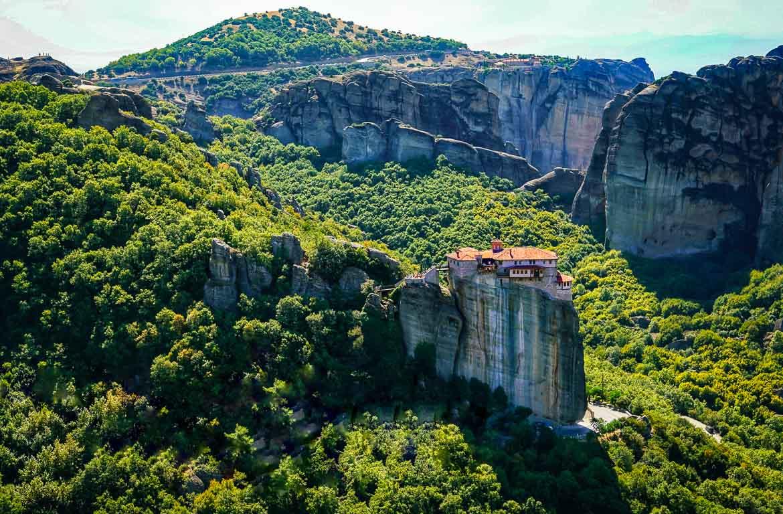 Mosteiros de Meteora, na Grécia