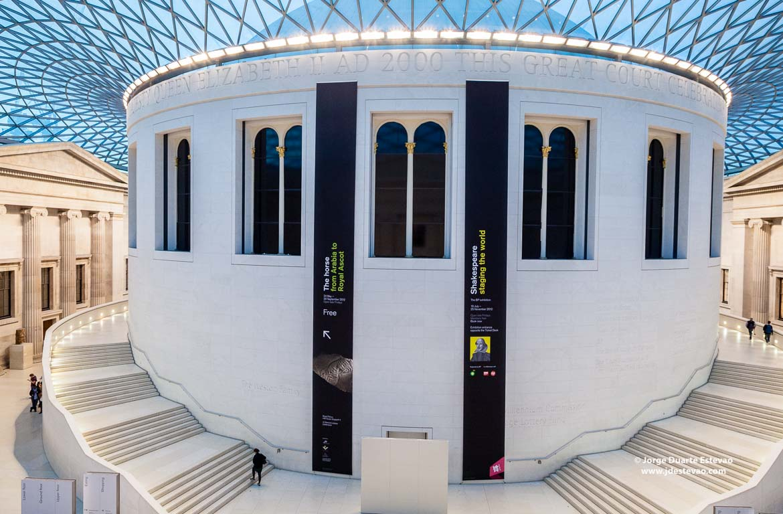 British Museum em Londres - onde pode poupar dinheiro