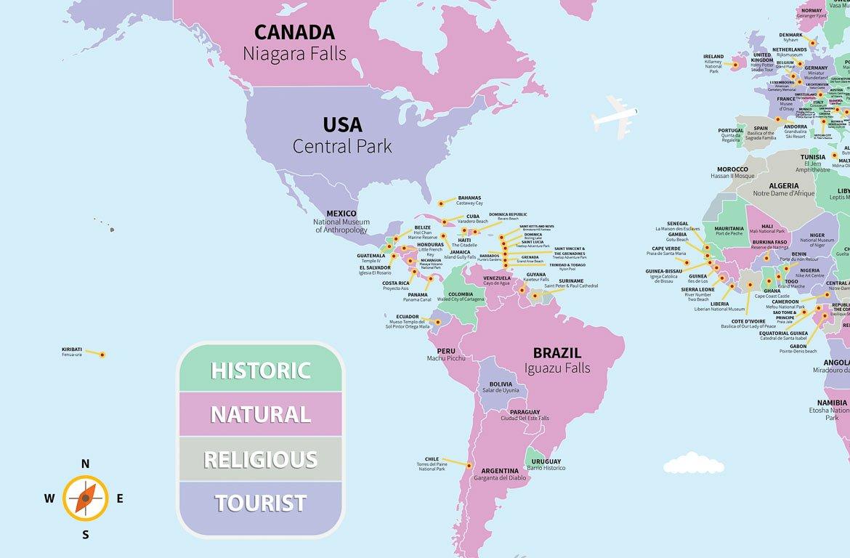 Atracções turísticas mais populares do mundo, de acordo com o TripAdvisor