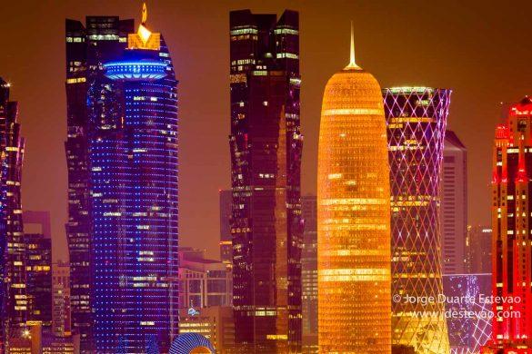 Corniche, em Doha