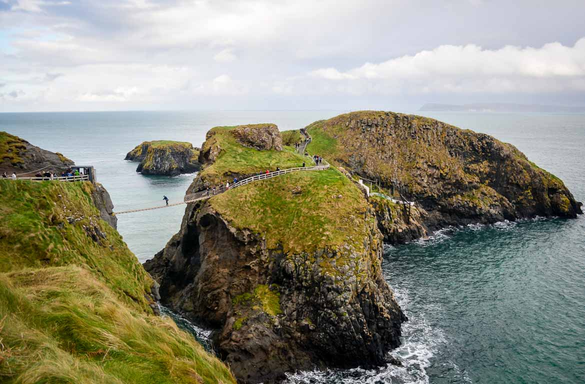 Carrick-a-rede na Irlanda do Norte