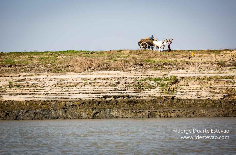 Rio Irrawaddy, na Birmânia, Myanmar