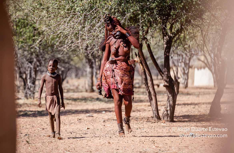 tribos Himba Otjikandero