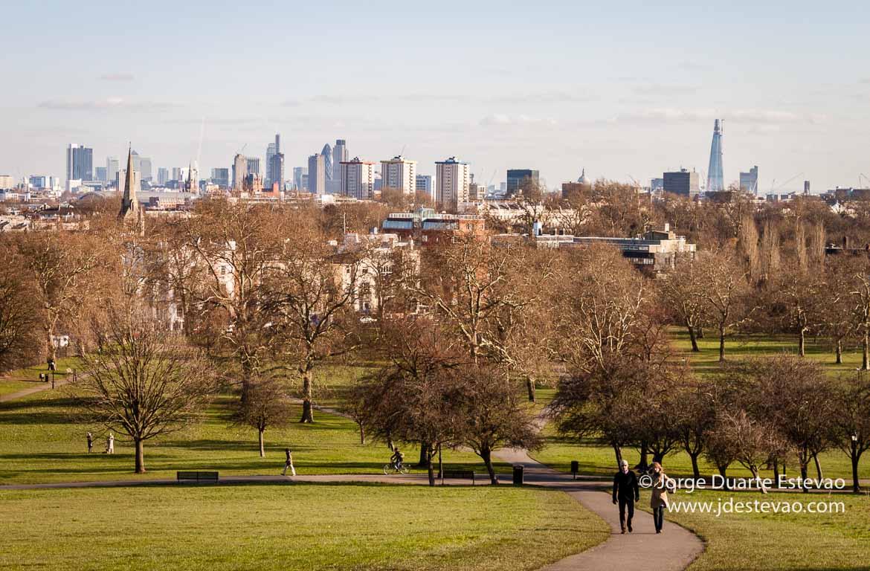 Primrose Hill, um dos bairros de Londres