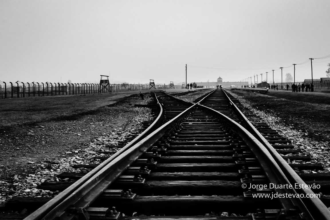 Auschwitz Birkenau, na Polónia