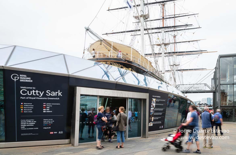 Cutty Sark em Londres