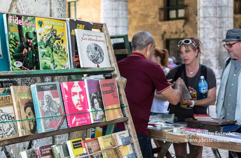 Mercado de livros, Havana, Cuba