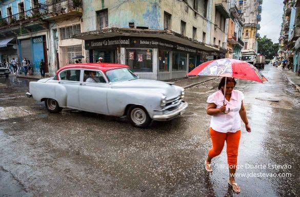 Chuva em Havana, Cuba