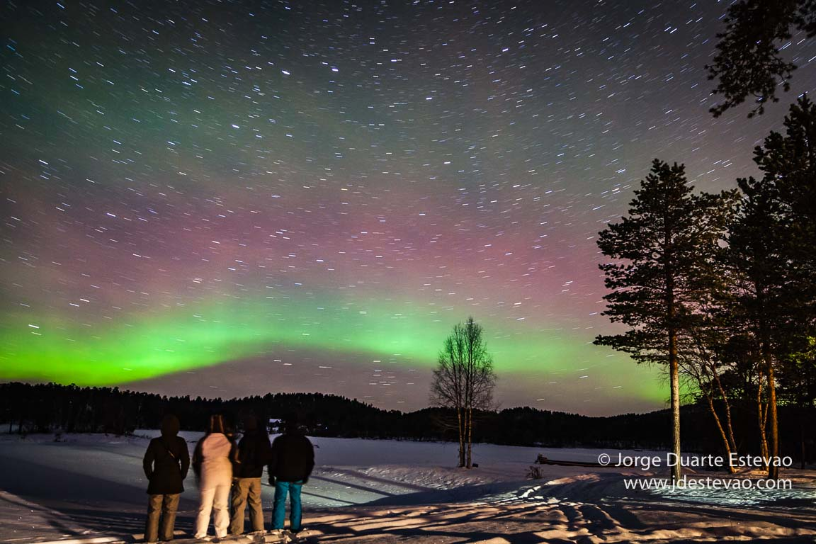 Luzes do Norte, Aurora Boreal, Lapónia