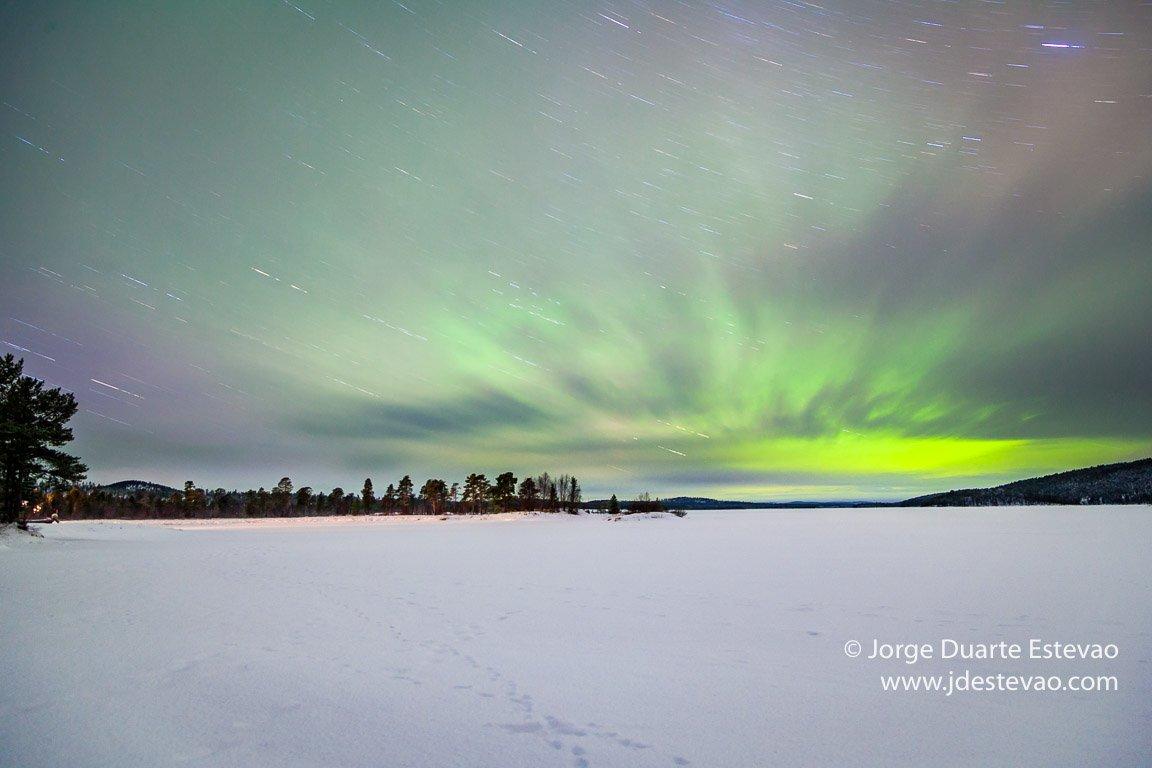 Fotografar a Aurora Boreal
