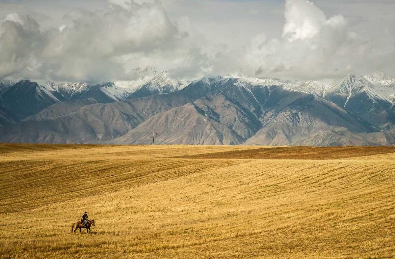 Issyk Kol, no Quirguistão