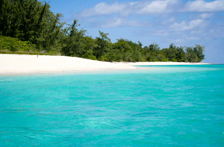 Praia em Timor Leste