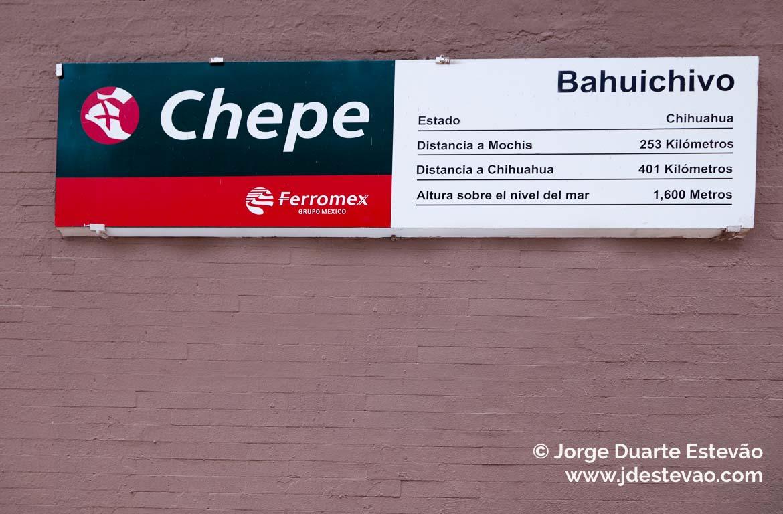 Bahuichivo, Barrancas del Cobre, Chepe, México