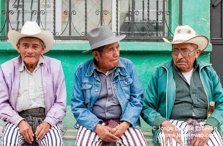 Procissão em Santiago Atitlán, Guatemala