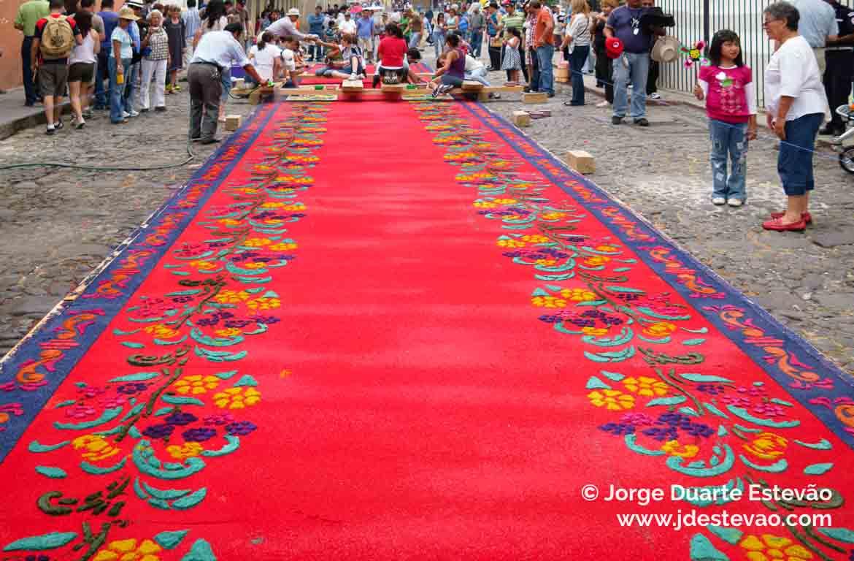 Tapetes em Antigua Guatemala