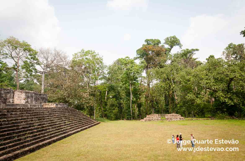 Ruínas de Quiriguá, na Guatemala