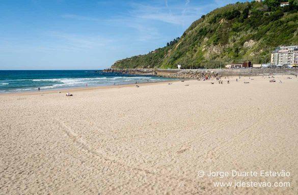 Praia de Zurriola, San Sebastián