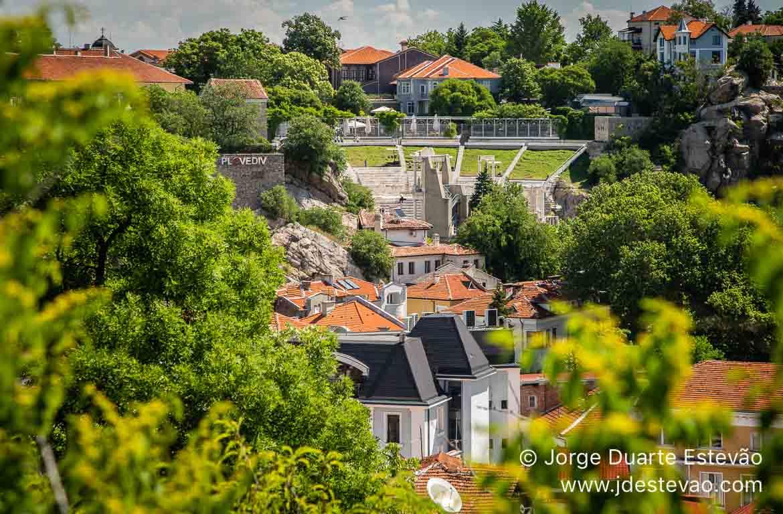 Image aérea de Plovdiv