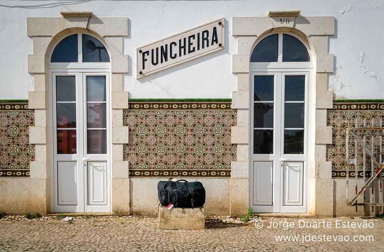 Estação da Funcheira, no Alentejo, em Portugal.