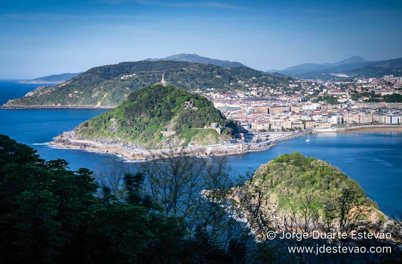 Imagem panorâmica de San Sebastián