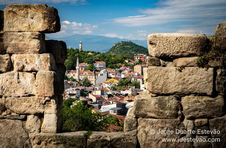 Miradouro de Nebet Tepe, Plovdiv, Bulgária