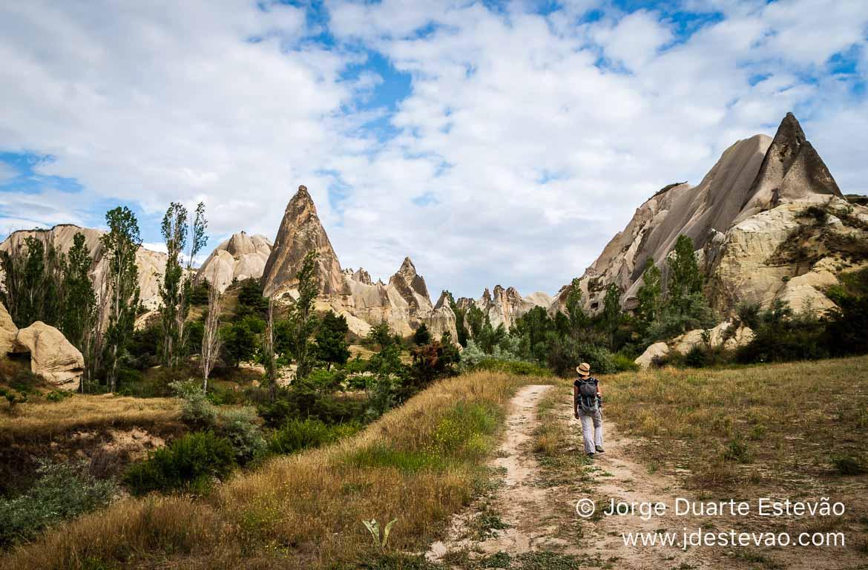 Caminhar pela Capadócia, Turquia