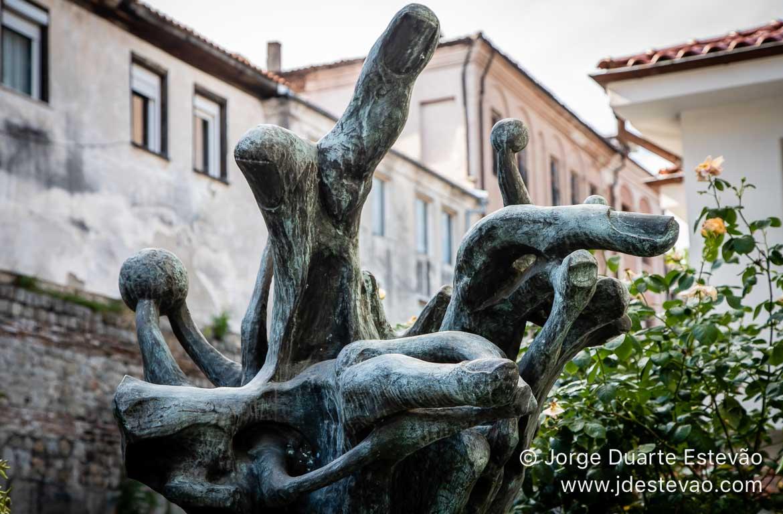 Escultura em Plovdiv, Bulgária
