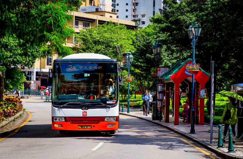 Autocarros em Macau
