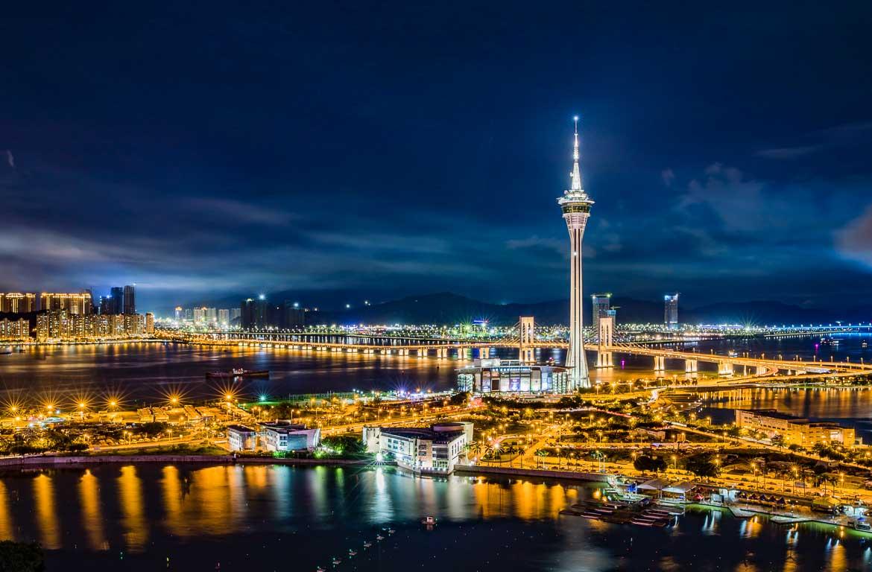 Macau à noite