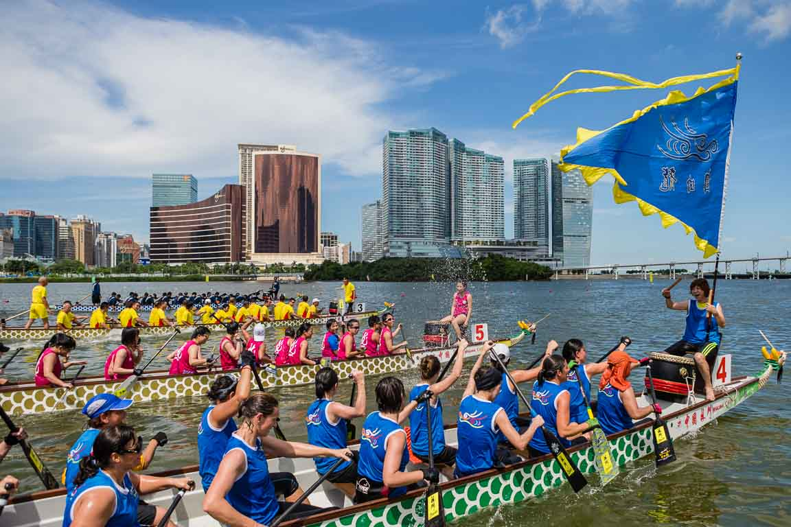 Regata Internacional de Barcos-Dragão de Macau