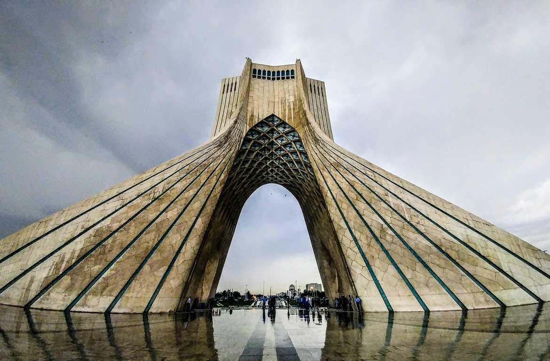 Torre Azadi, Teerão, Irão