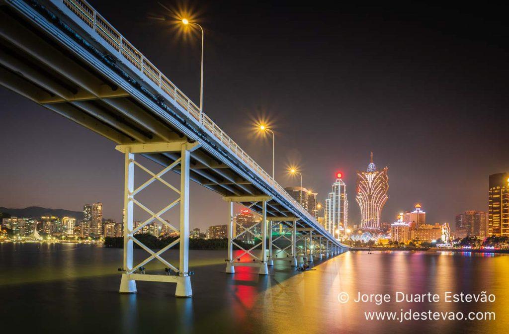 Noite em Macau
