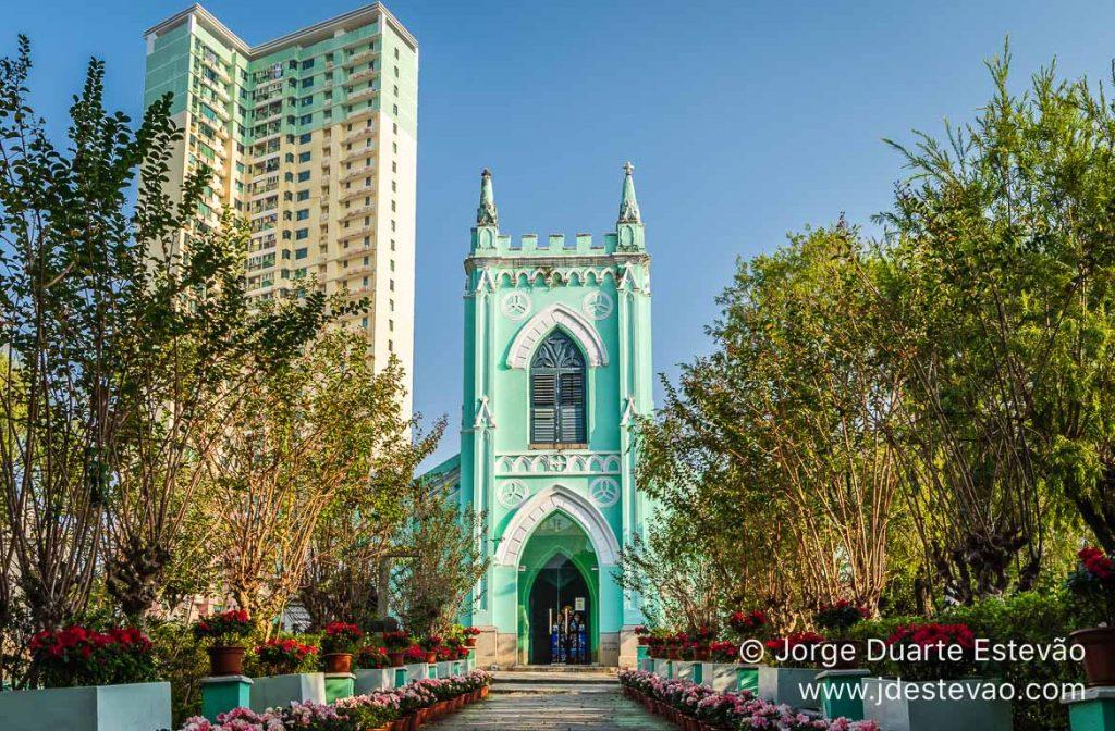 Igreja de S. Miguel de Arcanjo. Macau
