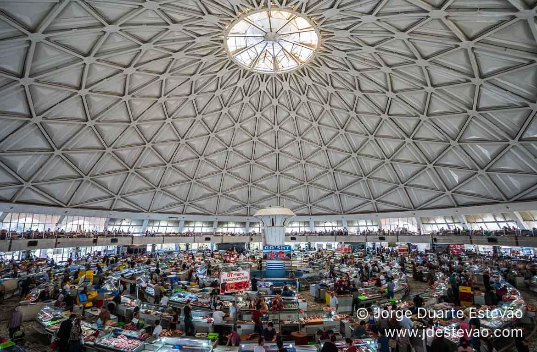 Bazar de Chorsu, Tashkent, Uzbequistão
